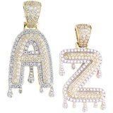 925 ZILVEREN ICED OUT LETTERS - GD_