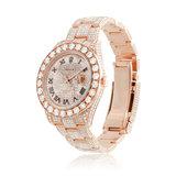 Rolex DateJust II 18K Rose Gold Diamond Watch_