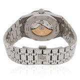 Audemars Piguet Royal Oak Stainless Steel Diamond Watch_