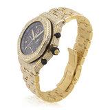 Audemars Piguet Royal Oak 18k Yellow Gold Diamond Watch_