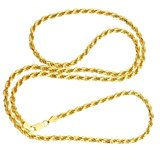 925 Zilveren Rope Chain 4 MM_