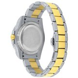 CLOXSTAR Stainless Steel Full Iced Out Watch BM 2TONE_