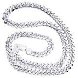 925 Zilveren Miami Cuban Chain 10 MM_