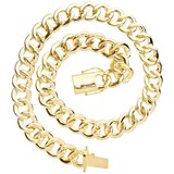 925 Zilveren Iced Out Miami Cuban Link Chain 18 MM_