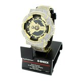 CUSTOM CASIO G-SHOCK WATCH 11.0 CT LAB MADE DIAMONDS_