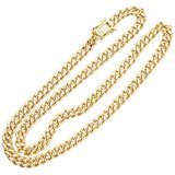 925 Zilveren Iced Out Miami Cuban Link Chain 6,5 MM_