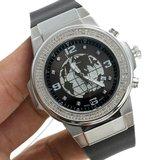 Joe Rodeo Diamanten Horloge - Panter Zilver 1.50 ct_