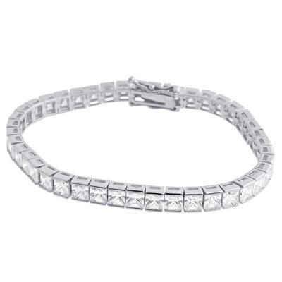 925 Zilveren Iced Out Tennisarmband
