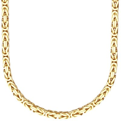 925 Sterling Silver Solid Byzantine Chain