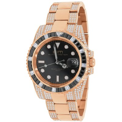 CLOXSTAR Stainless Steel Full Iced Out Watch BM RGD