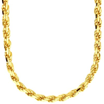925 Zilveren Rope Chain 5.6 MM