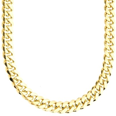 925 Zilveren Miami Cuban Chain 8 MM