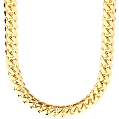 925 Zilveren Miami Cuban Chain 10 MM