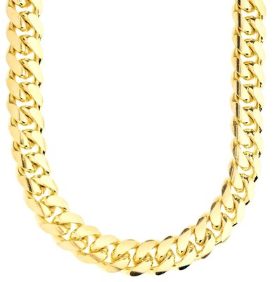 925 Zilveren Miami Cuban Chain 12 MM