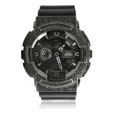 CUSTOM CASIO G-SHOCK WATCH 5.00CT SWAROVSKI