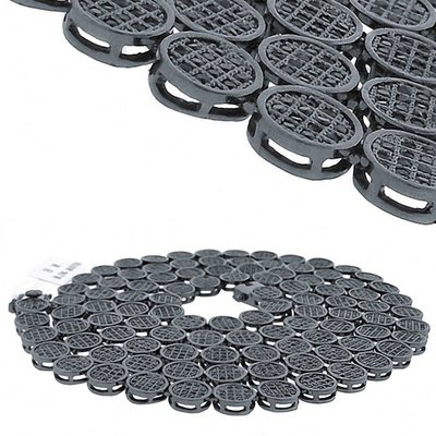 Iced Out Bling STONED ZIRCONIA Chain - Black