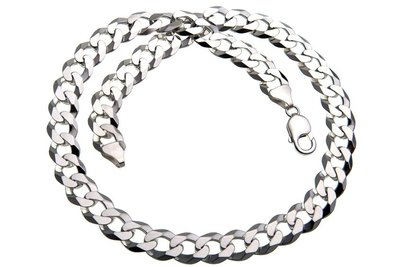 925 Silver Cuban Link Chain 12.0 MM