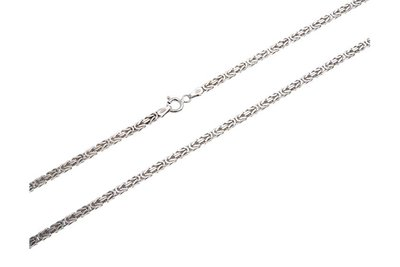 925 Silver Byzantine Chain Square 2.5 MM