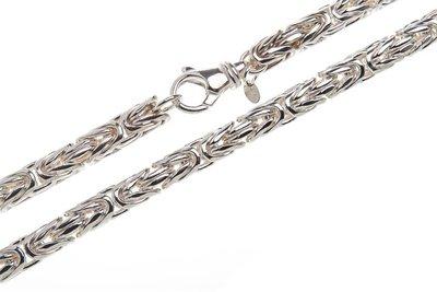 925 Silver Byzantine Chain Round 8.0 MM