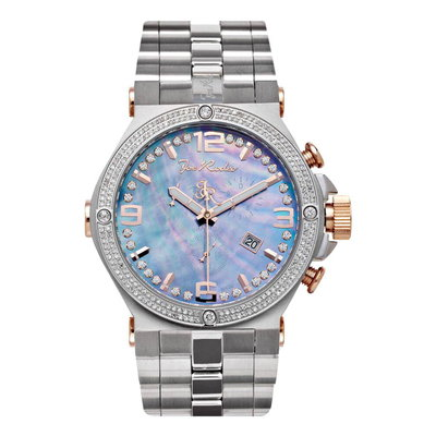 Joe Rodeo Diamanten Horloge - Phantom Zilver 2.25 ct