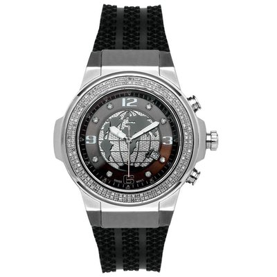 Joe Rodeo Diamanten Horloge - Panter Zilver 1.50 ct