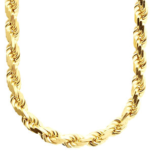 925 Zilveren Rope Chain 8 MM