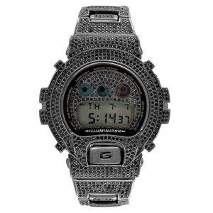 CUSTOM CASIO G-SHOCK WATCH 12.00CT SWAROVSKI