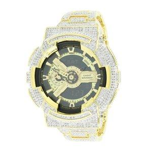 CUSTOM CASIO G-SHOCK WATCH 11.0 CT LAB MADE DIAMONDS