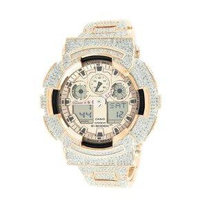 Custom Casio G Shock Watch 11 0 Ct Lab Made Diamonds
