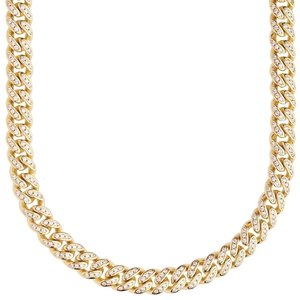 925 Zilveren Iced Out Miami Cuban Link Chain 6,5 MM