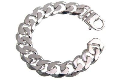 925 Zilveren Gourmet Armband 19.0 MM